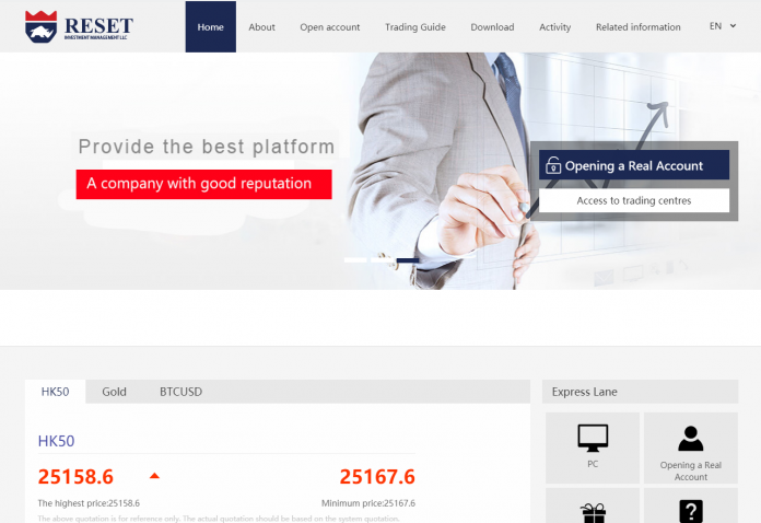 Reset Investment Management Review