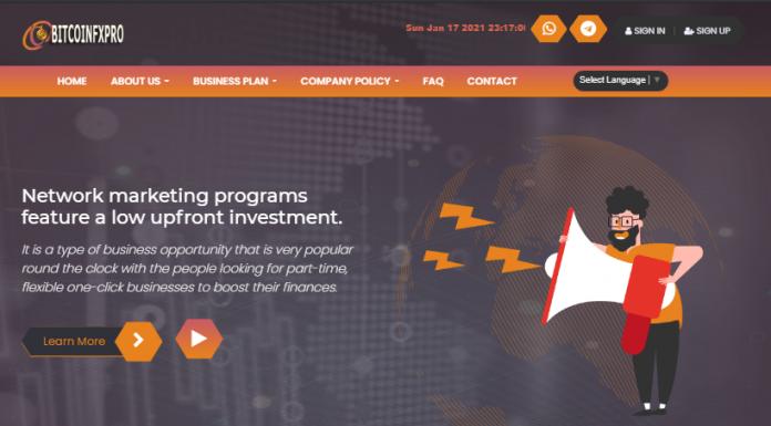 Bitcoinfxpro Review
