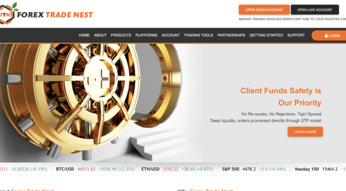 Forex Trade Nest Review